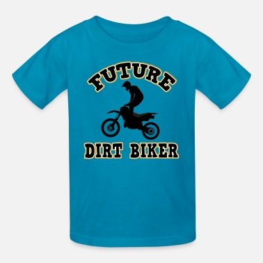 Bikes Future Dirt Biker - Kids' T-Shirt