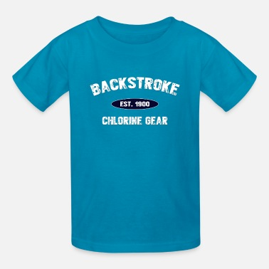 Backstroke Backstroke est. 1900 - Kids' T-Shirt