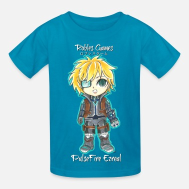 League of Legends PulseFire Ezreal Chibi (Kids) - Kids' T-Shirt