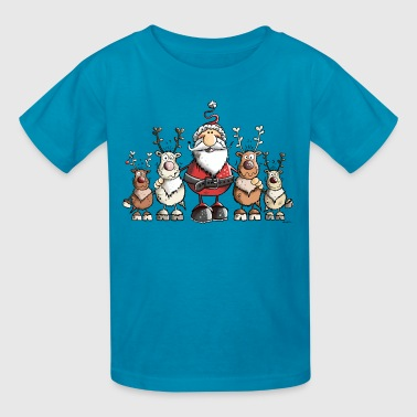 Happy Christmas - Kids' T-Shirt