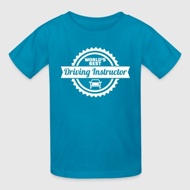 Driving Instructor Driving instructor - Kids' T-Shirt