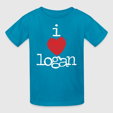Logan Henderson I Heart Logan MP  Kids' Shirts - Kids' T-Shirt