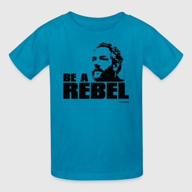 Andrew Breitbart Breitbart - Be a Rebel - WT - Kids' T-Shirt