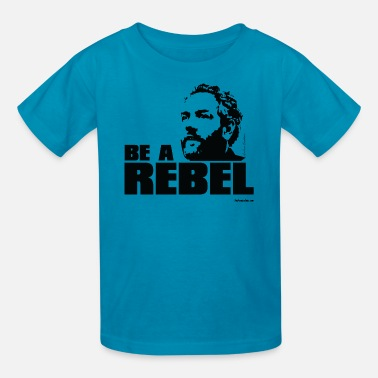 Rebel Media Breitbart - Be a Rebel - WT - Kids' T-Shirt