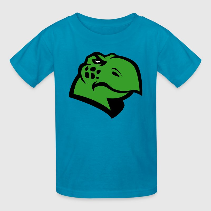 Angry Turtle Logo - Kids' T-Shirt