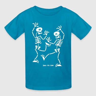 Dancing Skeletons Skulls Dancing Skeletons - Kids' T-Shirt