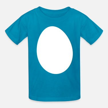 Circle Shape an egg shape circle simple - Kids' T-Shirt