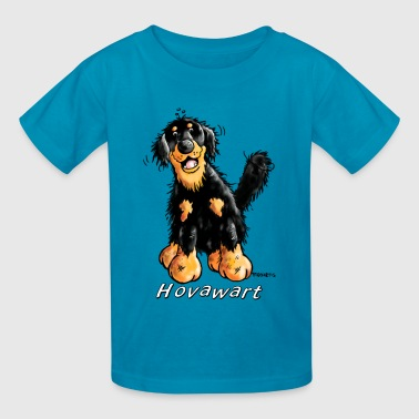 Funny Hovawart - Hovie - Dog - Dogs - Gift - Comic - Kids' T-Shirt