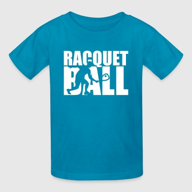 Racquetball - Kids' T-Shirt