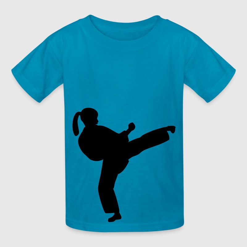 Karate Sidekick Girl - Kids' T-Shirt