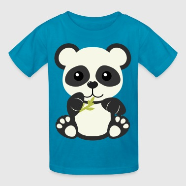 Cute Panda Bear Cub - Kids' T-Shirt