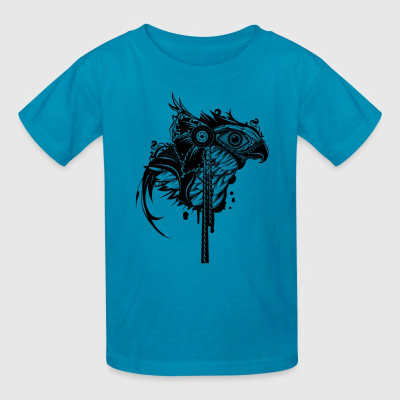 Egyptian god Horus - Kids' T-Shirt