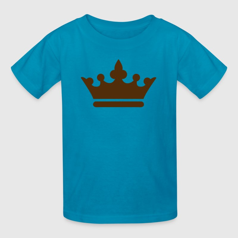 simple royalty prince princess king queen crown - Kids' T-Shirt