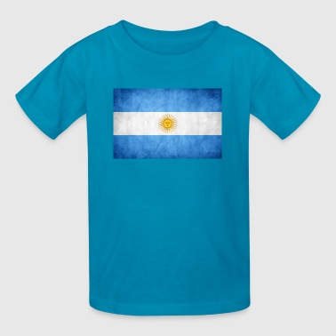 Argentina Womens Argentina Flag - Kids' T-Shirt