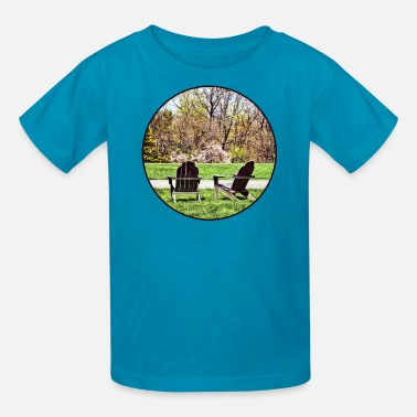 Westport Adirondack Chairs in Spring - Kids' T-Shirt