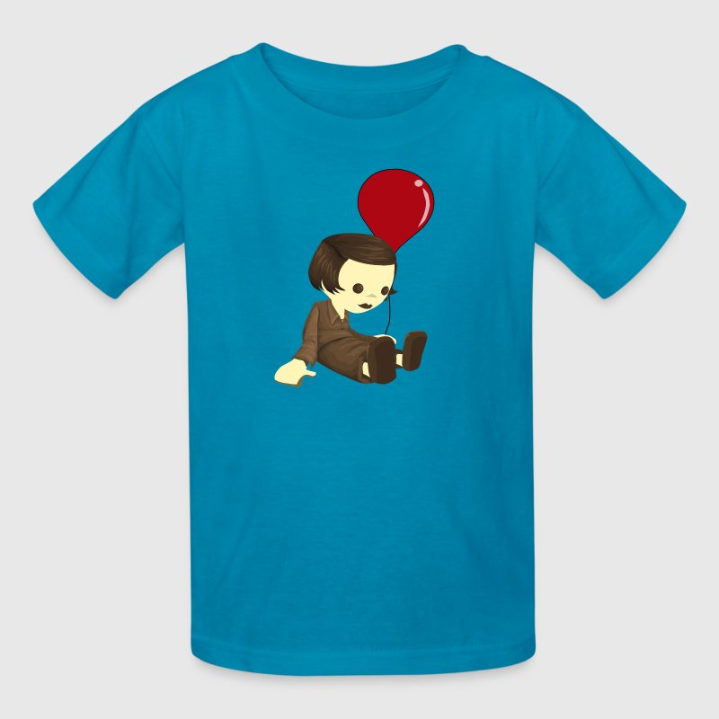 Jean et le ballon rouge - Kids' T-Shirt