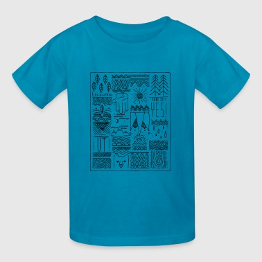 park city utah - Kids' T-Shirt