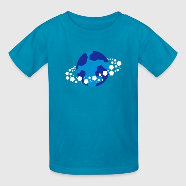 Ice Planet (Rings) Alien World - Kids' T-Shirt