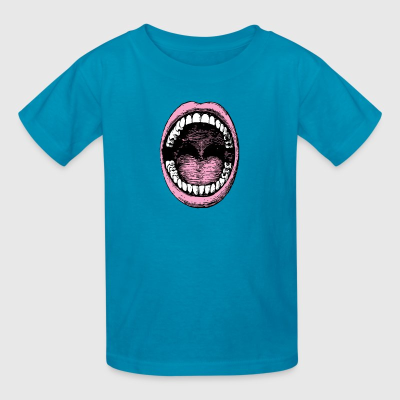 Big Mouth - Kids' T-Shirt