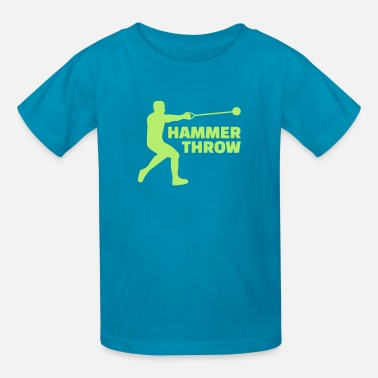 Hammer Throwing Hammer throw - Kids' T-Shirt