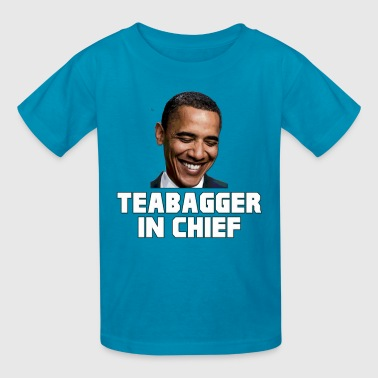 Obama Teabagger In Chief - Kids' T-Shirt