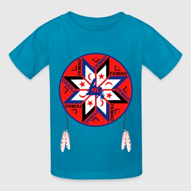 Mi'kmaq Tripartite Symbol - Kids' T-Shirt