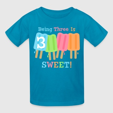 Ice Pop Ice Pop 3rd Birthday - Kids' T-Shirt