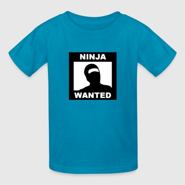 NINJA WANTED (Poster) - Kids' T-Shirt