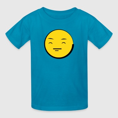 Happy Emoticon Face (emotion) - Kids' T-Shirt