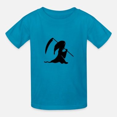 Cartoon Grim Reaper Grim Reaper - Kids' T-Shirt