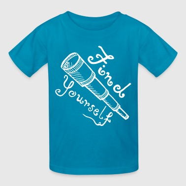 Find Yourself - Kids' T-Shirt