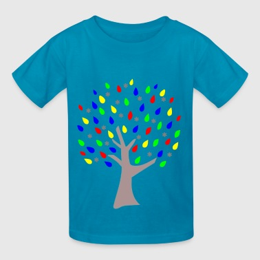 Memory Tree Primary Colors - Kids' T-Shirt