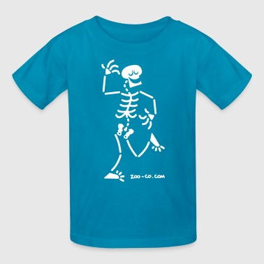 Dancing Skeletons Skulls Dancing Skeleton - Kids' T-Shirt