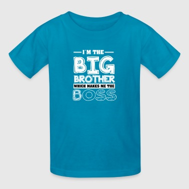 Big Brother Again Brother Shirt-Big brother - Kids' T-Shirt