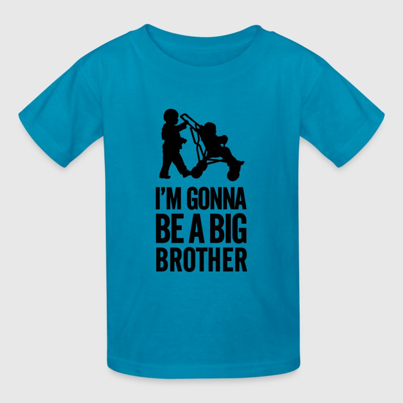 I'm gonna be a big brother baby car - Kids' T-Shirt