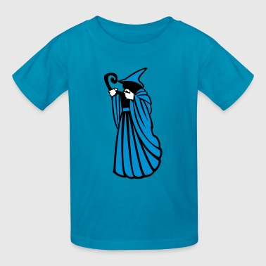 The Floating Wizard - Kids' T-Shirt