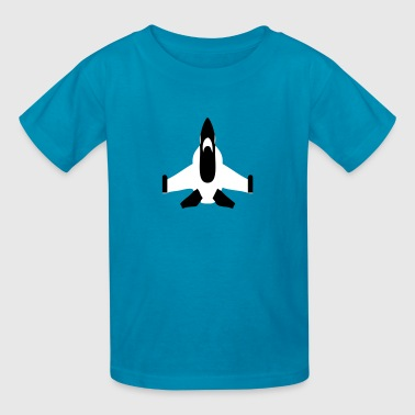 Fighter Jet (Army Plane) - Kids' T-Shirt