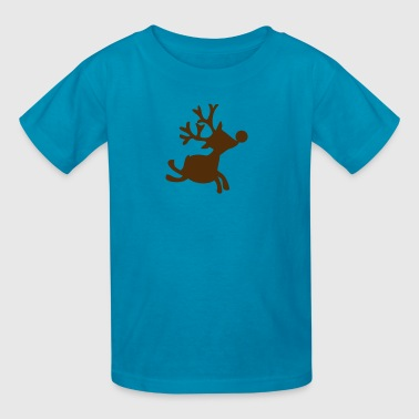 Rudolph the red nosed reindeer - Kids' T-Shirt