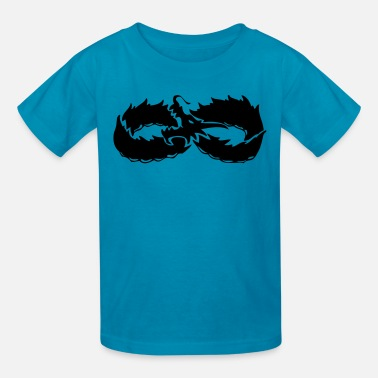 Infinite Infinite Dragon VECTOR - Kids' T-Shirt