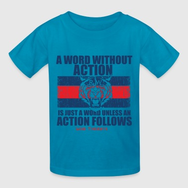 Word/Action - Kids' T-Shirt