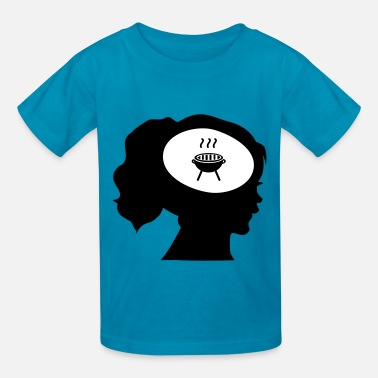 Only Food On My Mind Only BBQ On My Mind - Kids' T-Shirt