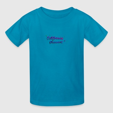CALI DREAMER PINK PURPLE - Kids' T-Shirt