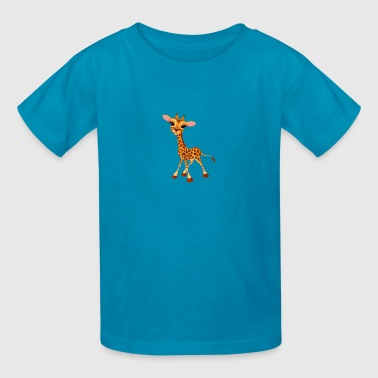 Blue Giraffe Shirt - Kids' T-Shirt