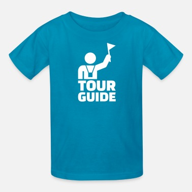 Tour Guides Tour guide - Kids' T-Shirt
