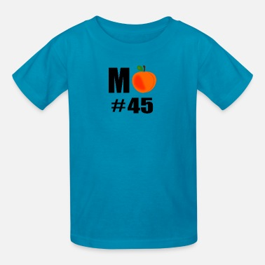 M Peach No 45 Trump - Kids' T-Shirt
