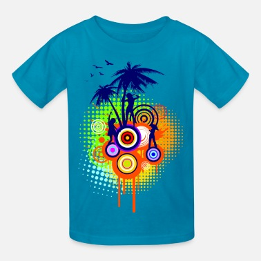 Summer Summer Party - Kids' T-Shirt