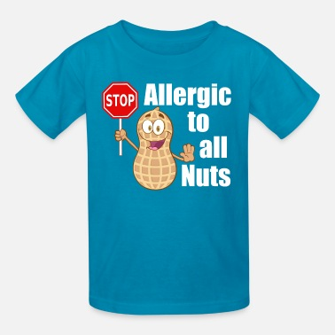 Food Allergy Cute Peanut Allergy - Kids' T-Shirt