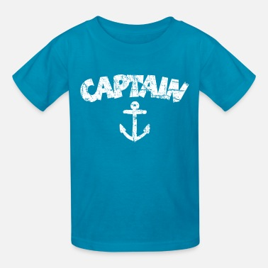 Vintage Ships Anchor Captain Anchor Vintage White - Kids' T-Shirt