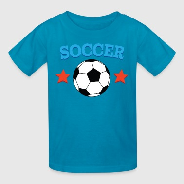 Soccer Ball Soccer Player - Kids' T-Shirt