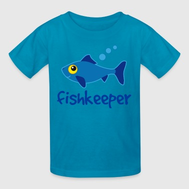 Fishkeeper Aquarist Fish - Kids' T-Shirt